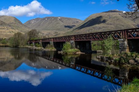 Rail bridge, Loch Awe